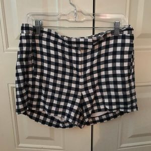 J. Crew Shorts - Jcrew navy gingham shorts 6